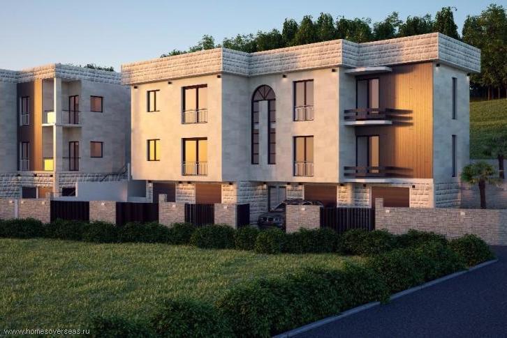 Новый комплекс апартаментов в Тивате.