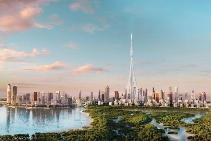 Новые апартаменты у пляжа в центре Дубая.