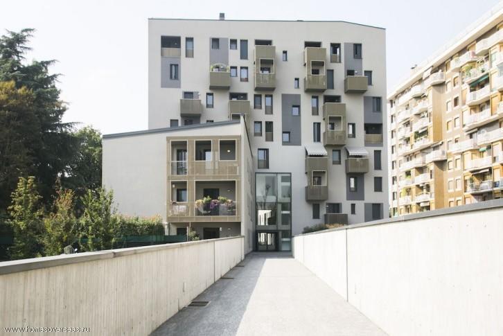 Трехкомнатная квартира в Милане