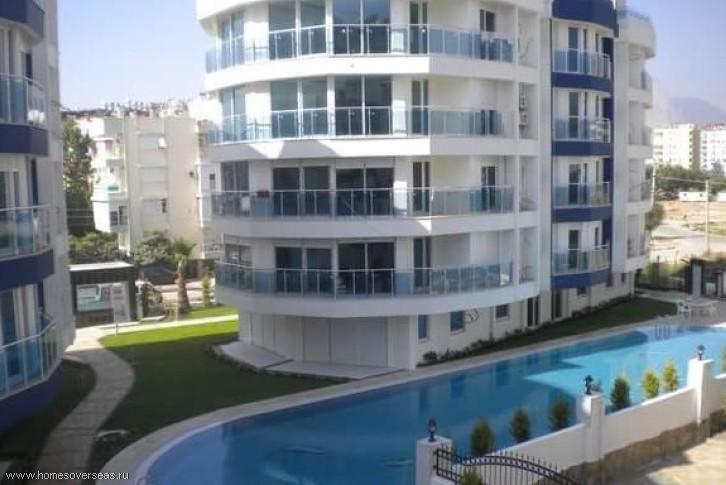 Апартаменты с 2 спальнями в 700 м от моря.