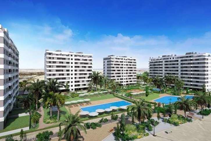 Апартаменты с панорамным видом в Пунта Прима.