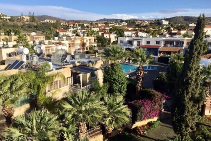 Апартаменты с красивым видом на город.