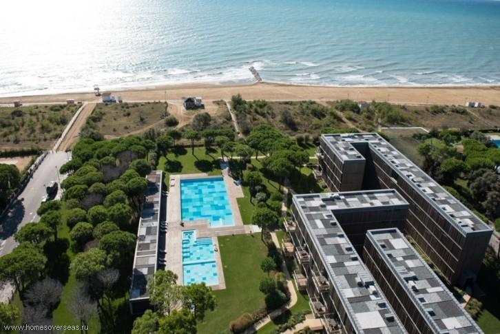 Апартаменты с панорамным видом на море.