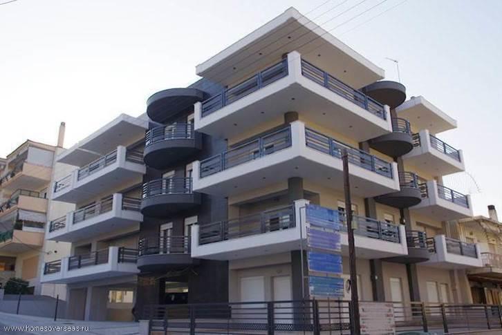 Апартаменты с собственным двориком на Халкидиках.